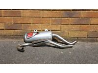 Rieju mrt 125 pro dep 3 exhaust and front pipe