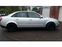 AUDI A4,130HP,12MONTHS MOT, 74K,LEATHER SEAT, SERVICE HISTORY, BIG BOOT, HEATING AND TIDY £995ONO