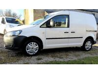 VW Caddy 1.6 TDi C20 102 PS BlueMotion with Passenger Airbag, AirCon, Reverse Parking Sensors