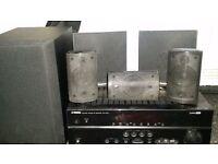 5.1 surround sound with amp
