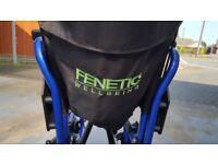 Wheelchair. Lightweight
