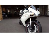 Ducati 848 - White - FSH inc. Belt's and Valve's