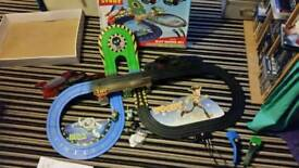 Disney toy story scalectrix car set racing