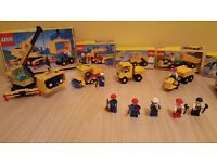 Road works lego set