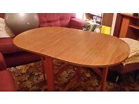 Space saving Dining table