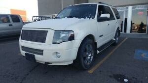 2008 Ford Expedition Limited 4X4 SUV 8 PASSENGER LOADED