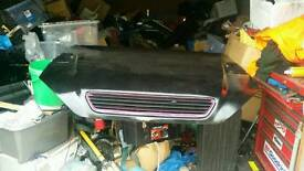 Vauxhall astra mk4 (g) bad boy bonnet
