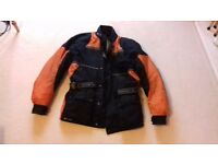 Frank Thomas Motorcycle Jacket XL, Goretex, Cordura with removable lining