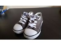 2 pairs canvas shoes baby boy size 6UK