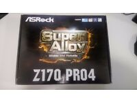 ASRock Z170 PRO4 Motherboard for Intel Skylake CPU Ideal for Gaming PC's