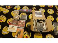 Brand new karaoke complete set with extras .