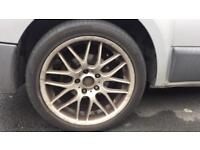 bmw / vivaro 18 inch alloys