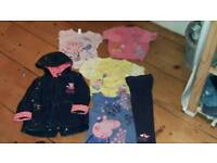 Girls Peppa pig clothes 2-3 Years