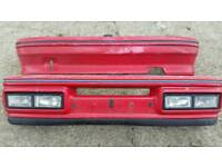 Fiesta turbo bodykit and bumpers
