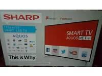 Sharp 55 inch smart led tv brand new