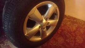 nissan 4x4 alloy wheels