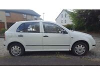 SKODA FABIA 1.2 MOT TO JULY NEXT YEAR. VW POLO GOLF . DRIVES GREAT FORD FOCUS PEUGEOT 206 FIAT PUNTO