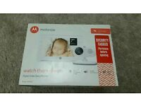 "Brand New Sealed Motorola MBP867 7"" Inch LCD Colour Screen Digital Baby Monitor RRP £229.99"