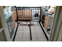 King Size Bed Frame, High Quality, Hardly Used