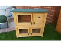 Wooden Rabbit/Guinea pig hutch
