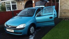 Vauxhall Corsa 5 Door Hatchback 1.2 2001