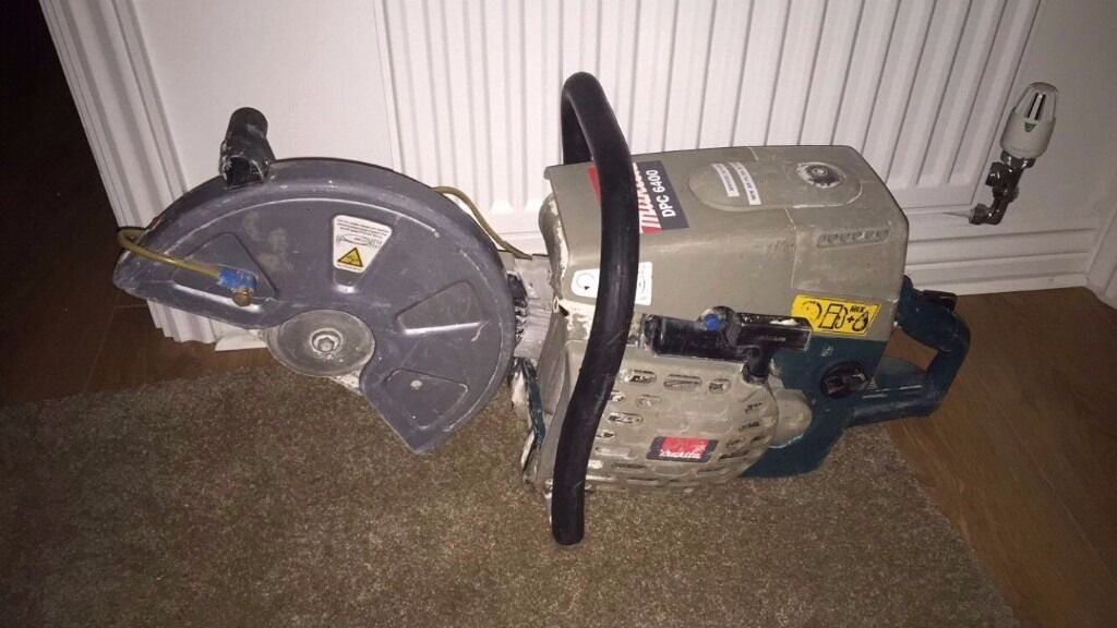 Makita DPC 6400 SAW petrol concrete metal