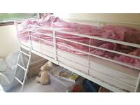 Argos Raised Bunk Bed for one.