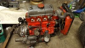 Classic mini 1275 mg metro engine