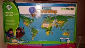 Leapfrog worl map