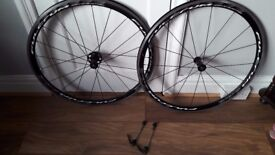 Fulcrum Racing Quattro Wheelset 700c, Shimano 9/10/11 speed, skewers included