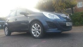 vauxhall corsa 2012 42000 miles clean car 1 year mot