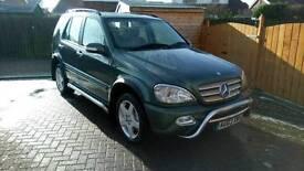 Mercedes ml 270 part X swap car