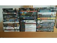50+ DVDS & PS2 GAMES USED £20