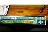 Double pack of DVD'S of: BAMBI