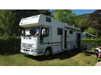 IVECO CUSTOM BUILT MOTOR HOME STUNNING VEHICLE
