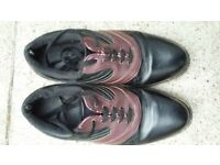 Used Donnay Golf shoes size 7 and a half.