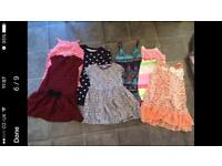 Clothes bundle (4-5) and toddler size bedding