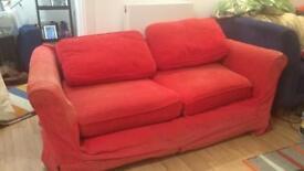 Free red sofa!