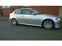 BMW Compact 1.6 E46, 12 months MOT £750