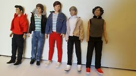 Bundle of Barbie Guys & Clothes £10