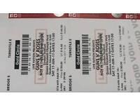 2 Guns n Roses Tickets golden circle Saturday