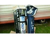 New set of golf clubs
