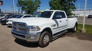 2015 Ram 3500 Laramie|Manual|Heated Leather|Low Kms