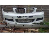 BMW 1 SERIES - MSPORT - FRONT BUMPER - E82 E88 - COMPLETE