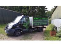 IVeco hookloader with Hiab on 1 body three body's in sale