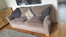3seat couch and cuddle chair