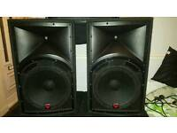 """15"""" Cerwin vega INT-152V2 speakers"""