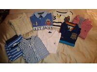 Gant, Joules & Lazy Jacks Clothes Bundle £15