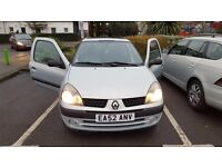Renault Clio 1.15 engine £625 - Super Economical, Drives like new. Low mileage!
