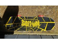 Mini spiderman skateboard